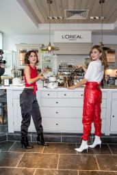 Lena Meyer Landrut and Stefanie Giesinger at L