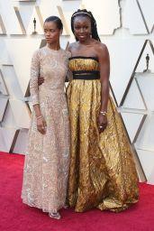 Letitia Wright – Oscars 2019 Red Carpet