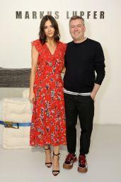 Lilah Parsons - Markus Lupfer Fashion Show, London Fashion Week in London 02/16/2019