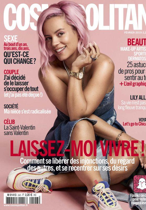 Lily Allen - Cosmopolitan France March 2019