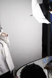 Lily Allen - Photoshoot for Vype Electric Cigarettes Commercial