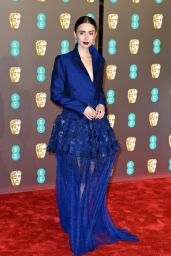 Lily Collins – BAFTA 2019