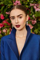 Lily Collins - Photoshoot for Vogue UK February 2019
