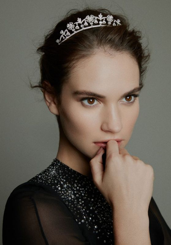Lily James - Madame Figaro China February 2019 Photos