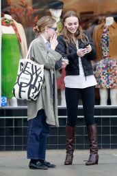 Lily-Rose Depp - Shopping in LA 02/02/2019