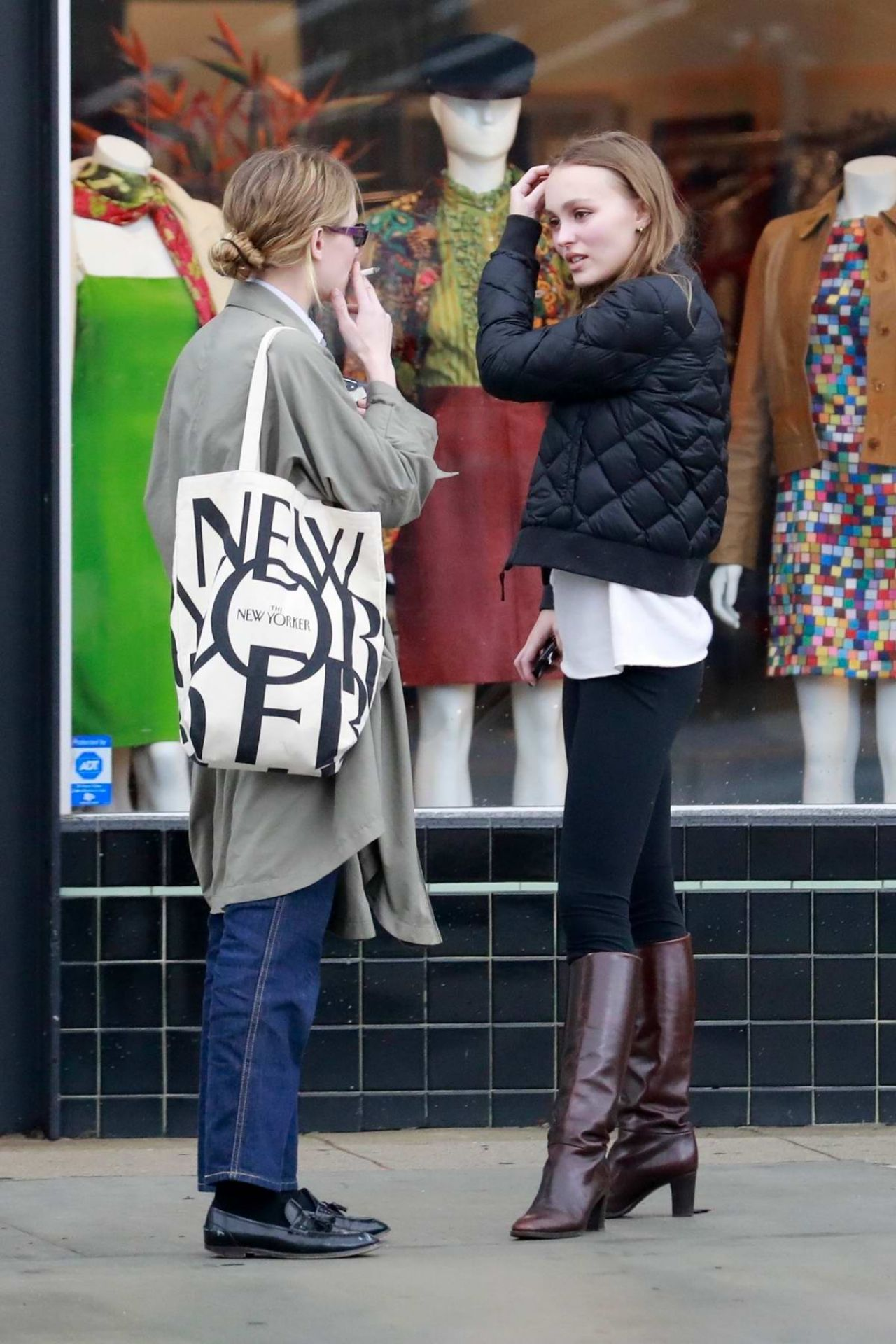 Lily Rose Depp Shopping In La 02 02 2019