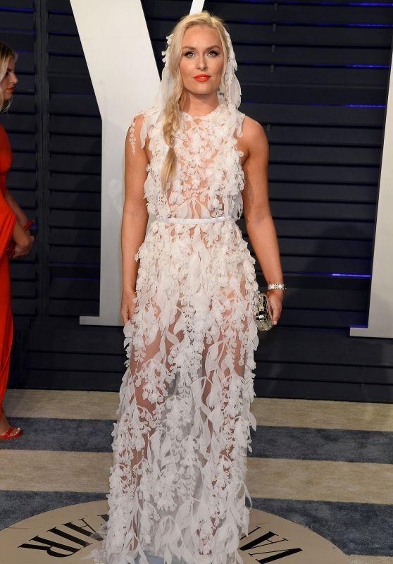 Lindsey Vonn – 2019 Vanity Fair Oscar Party