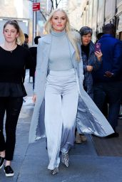 Lindsey Vonn Style and Fashion - Leaving NBC Studios in NYC 02/21/2019