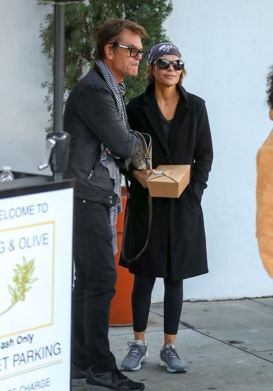 Lisa Rinna and Harry Hamlin - Fig & Olive in West Hollywood 02/16/2019