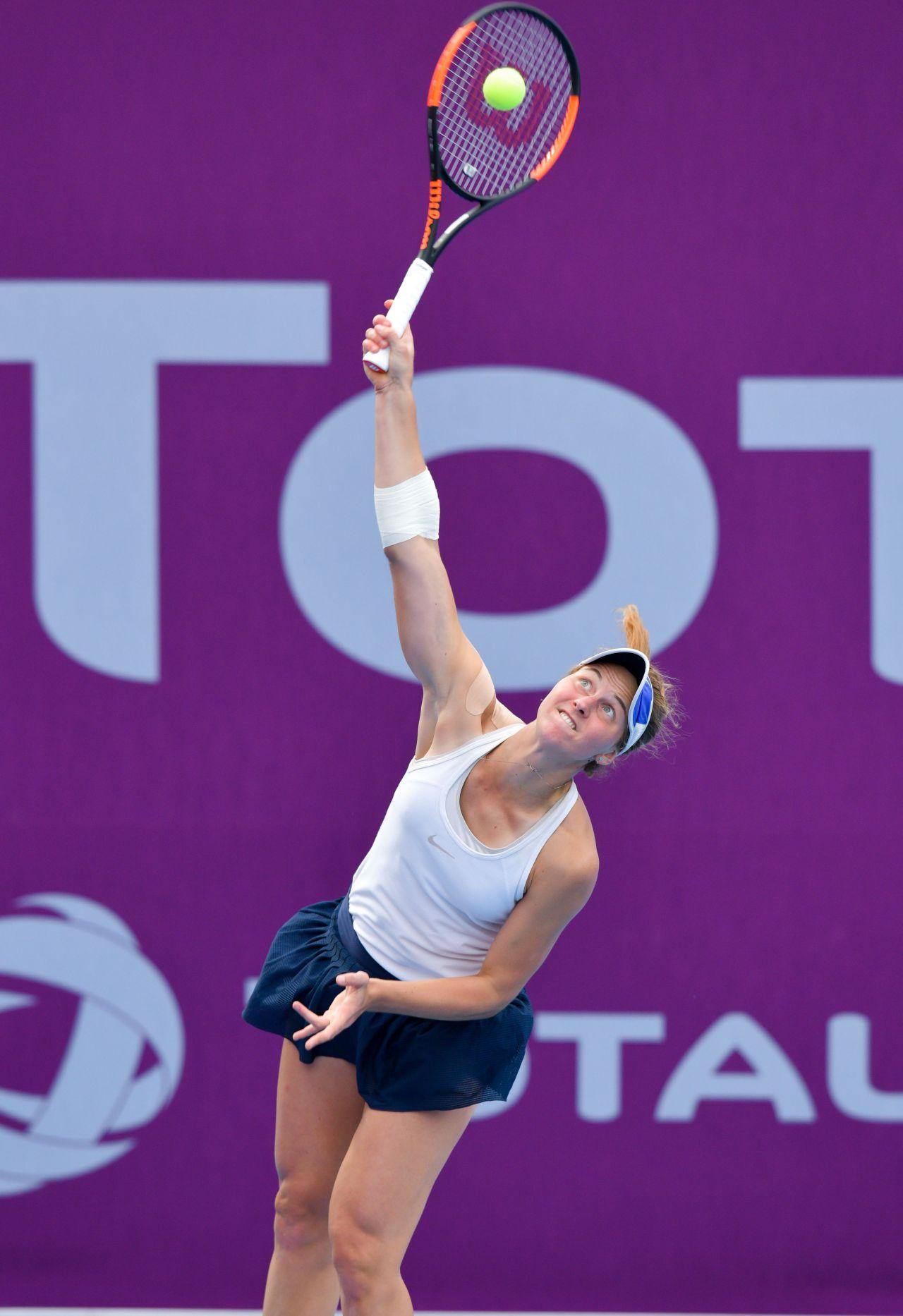 liudmila samsonova  u2013 qualifying for 2019 wta qatar open in