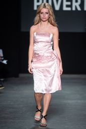 Lottie Moss Walks Oxfam Fighting Poverty Fashion Show in London 02/18/2019
