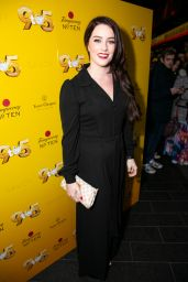 """Lucie Jones – """"9 to 5 The Musical"""" Gala Evening in London 02/17/2019"""