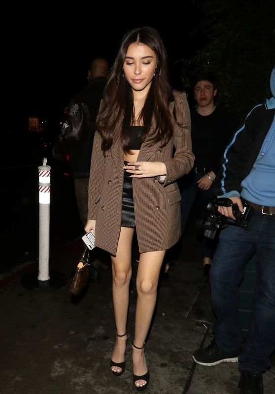 Madison Beer Night Out Style 02/15/2019