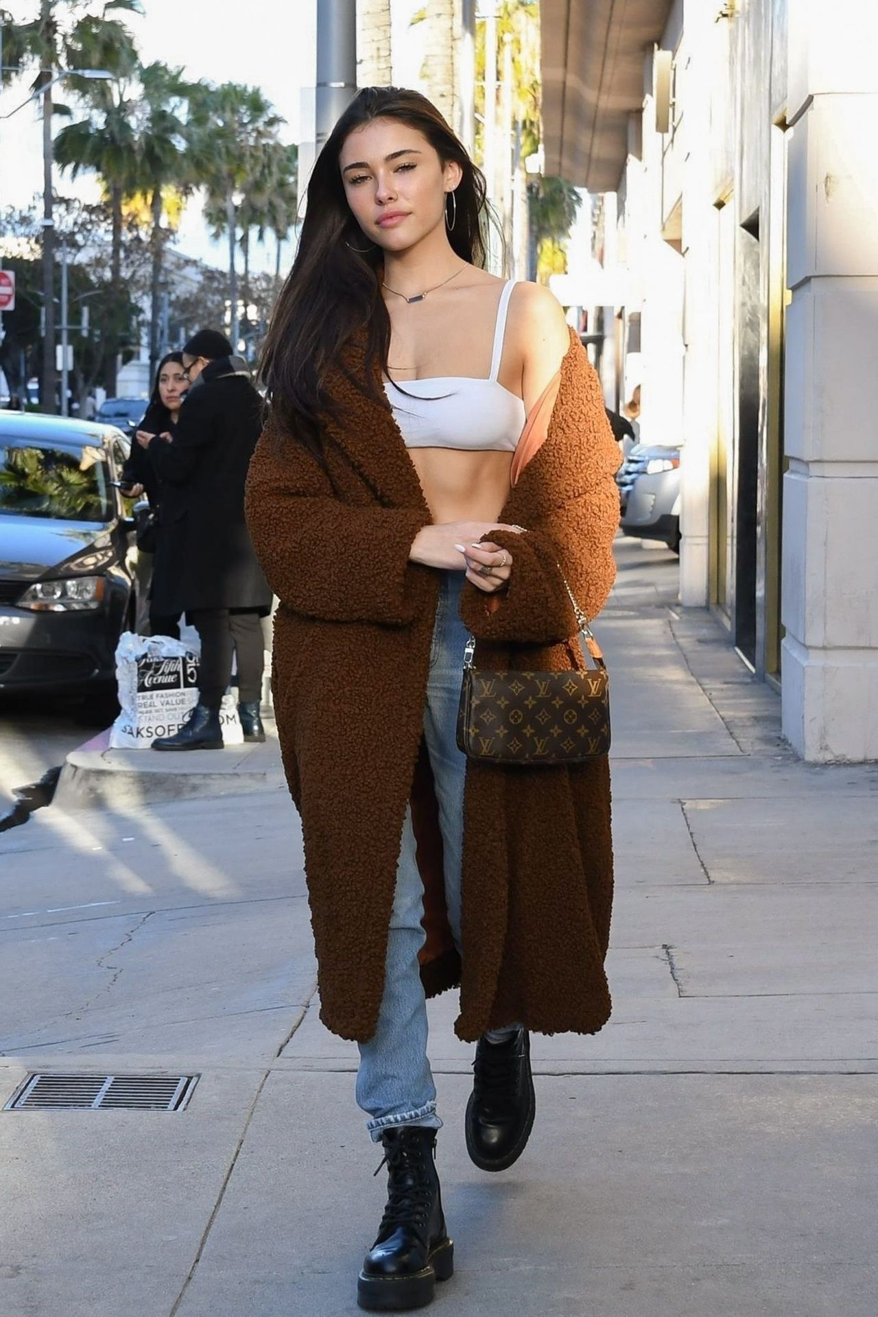Madison Beer Shopping On Rodeo Drive 02 11 2019