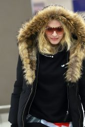Madonna at JFK Airport in NYC 02/01/2019