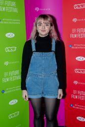 Maisie Williams - BFI Future Film Festival in London 02/23/2019