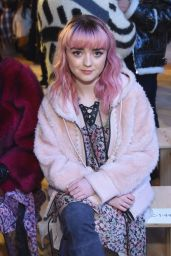 Maisie Williams – Coach Fashion Show in NYC 02/12/2019