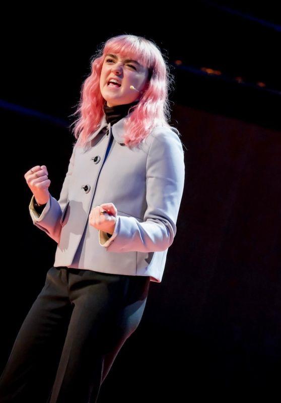 Maisie Williams - Speaker at TEDx Manchester 03/04/2019