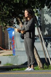 Mandy Moore in Casual Outfit - Los Angeles 02/17/2019