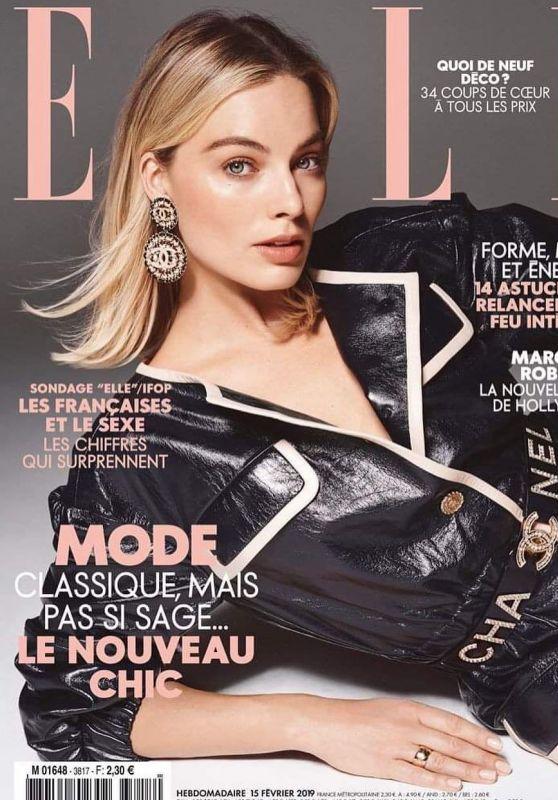 Margot Robbie - ELLE Magazine France February 2019 Cover