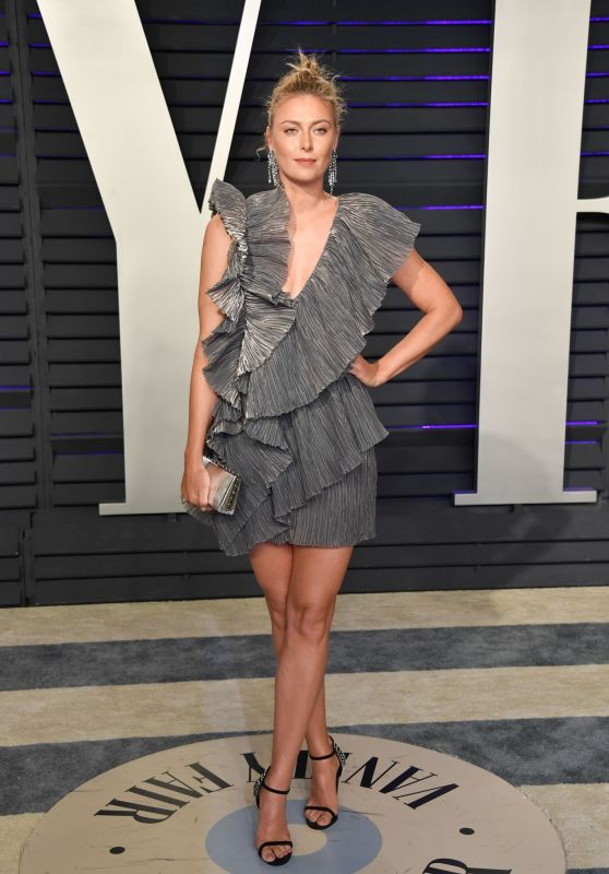 Maria Sharapova – 2019 Vanity Fair Oscar Party