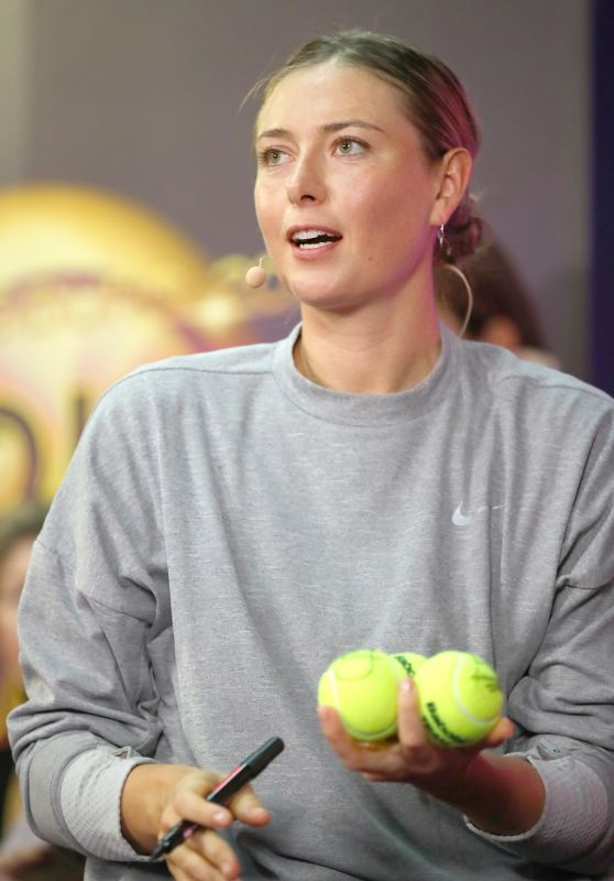 Maria Sharapova Fan Meet and Greet - 2019 St Petersburg Ladies Trophy 01/30/2019