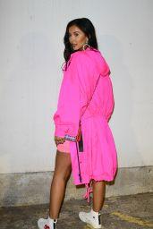 Maya Jama – House of Holland Show, London Fashion Week 02/16/2019