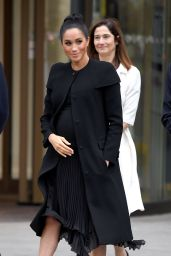 Meghan Markle - Visits the Association of Commonwealth Universities at City, University Of London 01/31/2019