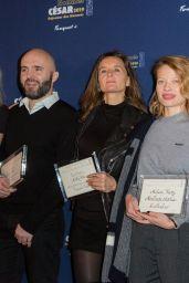 Mélanie Thierry - Cesar 2019 Nominee Luncheon in Paris 02/03/2019