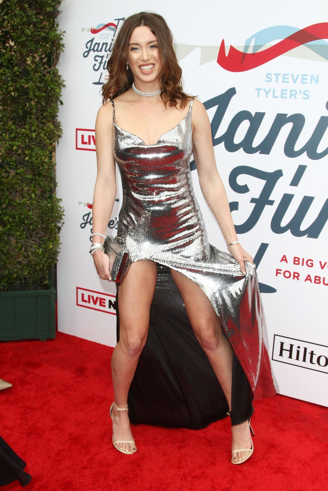 Melissa Bolona Steven Tyler S Grammy Awards 2019 Viewing Party