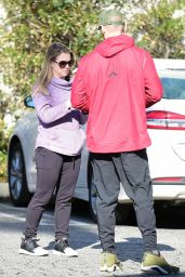 Melissa Joan Hart and Mark Wilkerson - Out in Studio City 02/16/2019