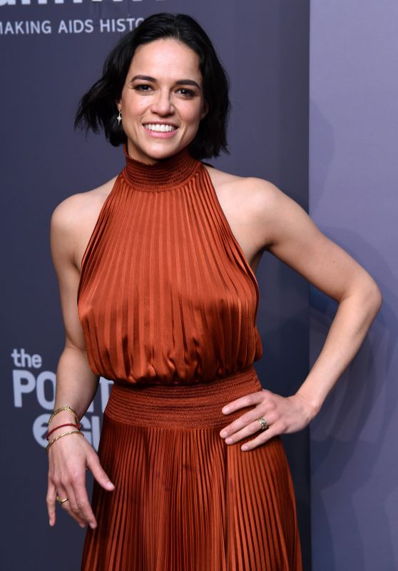Michelle Rodriguez – 2019 amfAR Gala in New York