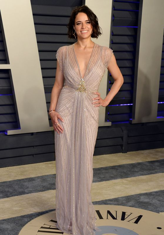 Michelle Rodriguez – 2019 Vanity Fair Oscar Party
