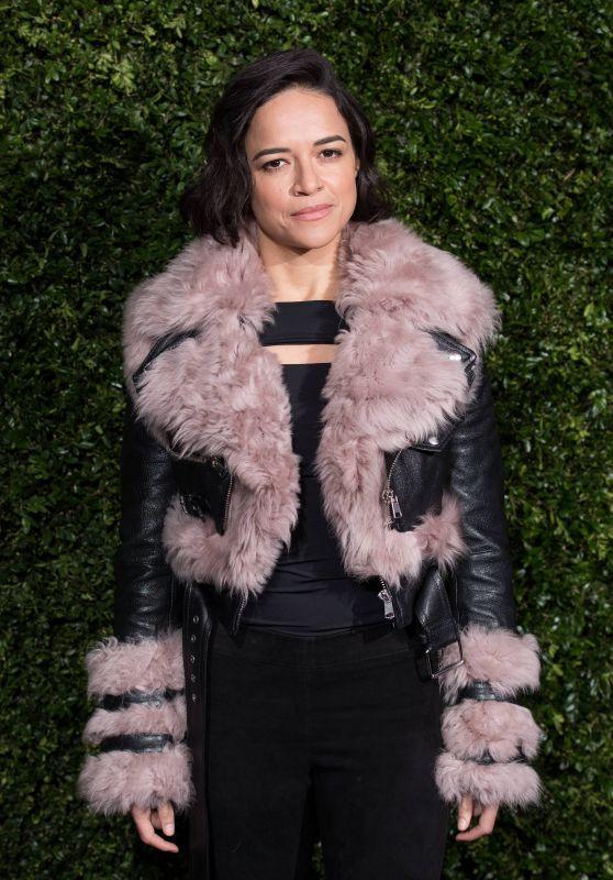 Michelle Rodriguez – Charles Finch x Chanel Pre-BAFTA Dinner in London 02/09/2019