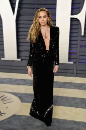 Miley Cyrus – 2019 Vanity Fair Oscar Party