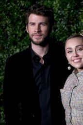 Miley Cyrus - Charles Finch & CHANEL Pre-Oscar Awards 2019 Dinner
