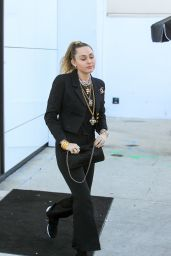 Miley Cyrus is Stylish - Outside the Chanel Store in LA 02/22/2019