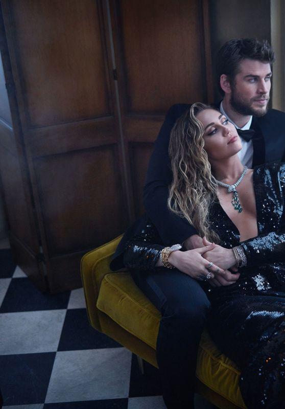Miley Cyrus - Photoshoot during the 2019 Vanity Fair Oscar Party