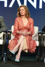 Mireille Enos - Amazon Hanna Panel at the Winter Television Critics Association Press Tour in Pasadena 02/13/2019