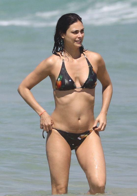 Morena Baccarin in Bikini - Beach in Brazil 02/03/2019