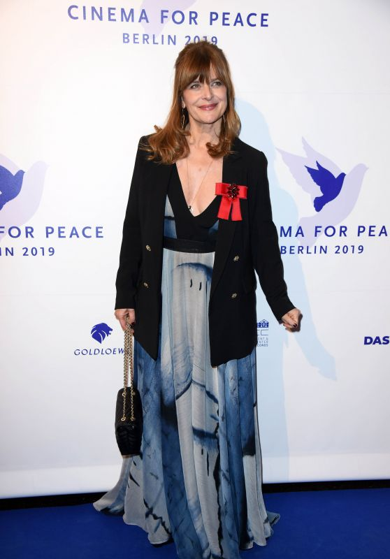 Nastassja Kinski – Cinema for Peace Gala at the 69. Berlinale 02/11/2019