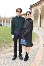 Natalia Dyer - Salvatore Ferragamo Fashion Show in Milan 02/23/2019
