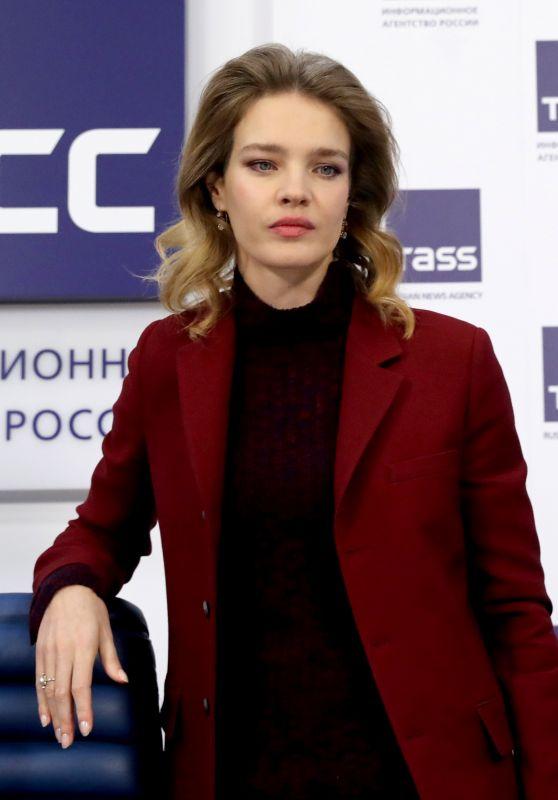 Natalia Vodianova - Press Conference in Moscow 02/05/2019