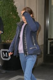 Natalie Portman - Leaves The Mark Hotel in NYC 02/19/2019
