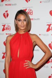 Nathalie Kelley – Go Red For Women Red Dress Collection 2019 in NYC