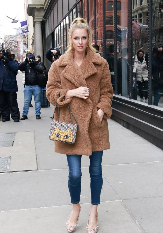 Nicky Hilton - Outside BUILD Series in New York 02/11/2019