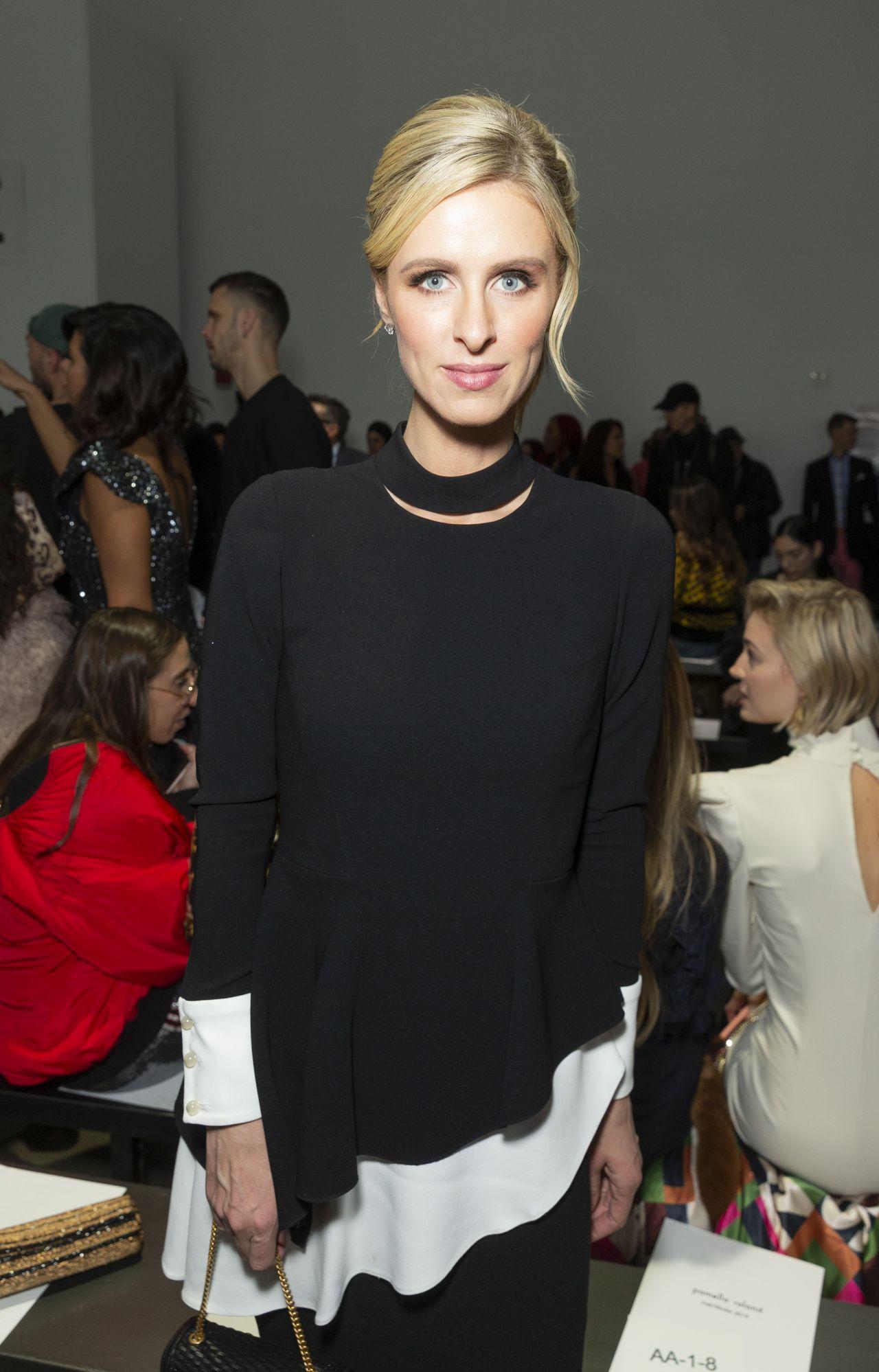 Nicky Hilton - Pamela Roland Show at New York Fashion Week ...