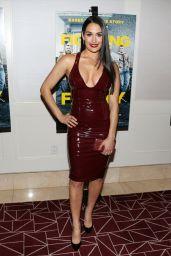 "Nikki Bella and Brie Bella - ""Fighting With My Family"" LA Tastemaker Screening"