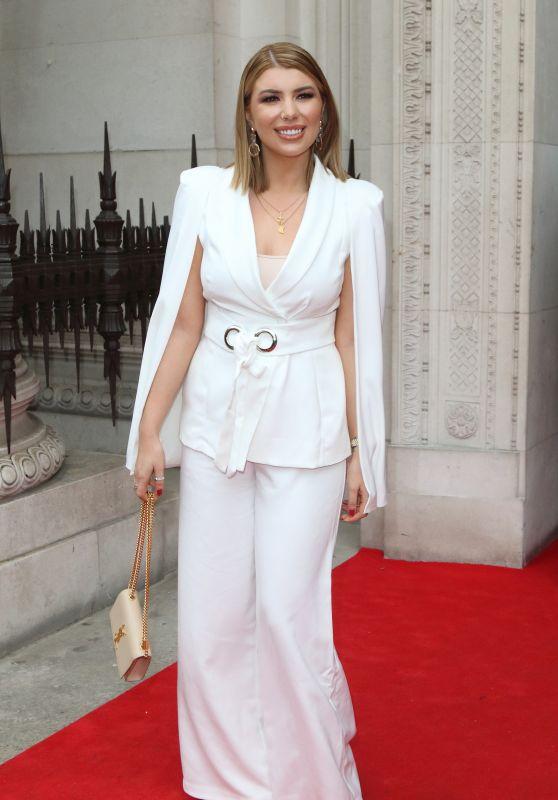 Olivia Buckland - London Fashion Week at the Freemasons Hall in London 02/16/2019