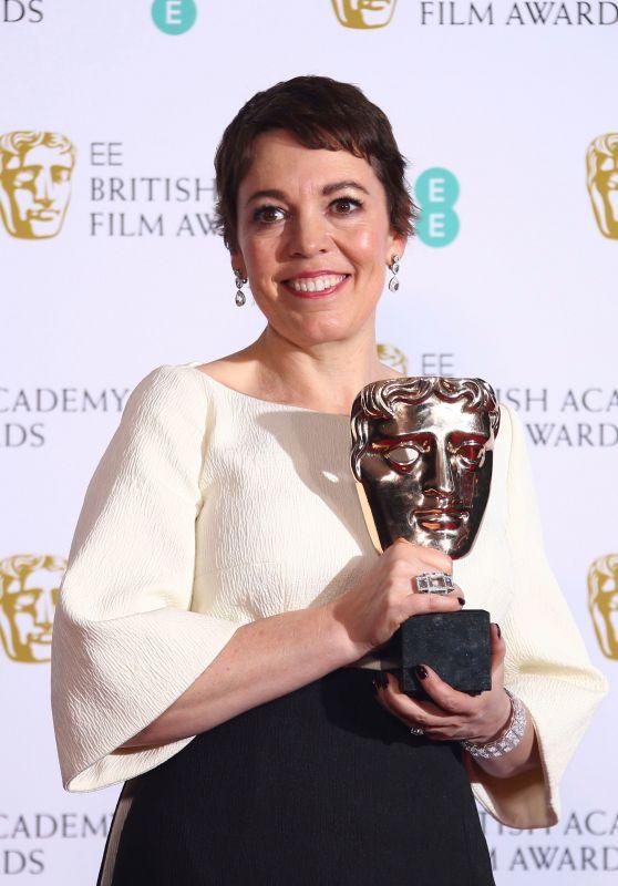 Olivia Colman – BAFTA 2019